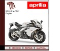 Thumbnail Aprilia RSV4 R a-PRC Workshop Service Manual