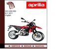 Thumbnail Aprilia SXV 450-550 M.Y 2011 Workshop Service Manual