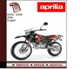 Thumbnail Aprilia RX50-SX50 2006 Workshop Service Manual