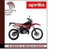 Thumbnail Aprilia RX50 Racing M.Y 2003 Workshop Service Manual