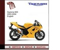 Thumbnail Triumph Daytona 600 2003-2004 Workshop Service Manual