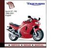 Thumbnail Triumph Sprint ST/RS 1999-2001 Workshop Service Manual
