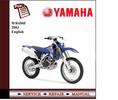 Thumbnail Yamaha WR450F 2006 Workshop Service Manual