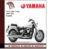 Thumbnail Yamaha XVS 1300 V-Star 07-2011 Workshop Service Manual