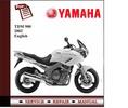 Thumbnail Yamaha TDM 900 2002 - 2004 Workshop Service Manual