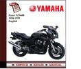 Thumbnail Yamaha Fazer FZS600 1998-1999 Workshop Service Manual