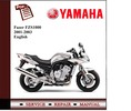 Thumbnail Yamaha Fazer FZS1000 01-03 Workshop Service Manual