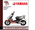 Thumbnail Yamaha YQ100 AEROX 2000-2004 Workshop Service Manual