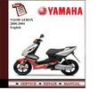 Thumbnail Yamaha YQ100 AEROX 2000-2004 Workshop Service Manual