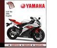 Thumbnail Yamaha YZF R6 2006 - 2007 Workshop Service Manual