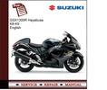 Thumbnail Suzuki GSX1300R Hayabusa K8-K9 Service Manual