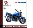 Thumbnail Suzuki GSF650/S Bandit 2005 Service Manual