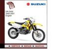 Thumbnail Suzuki DR-Z400 2000-2007 Service Manual