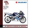 Thumbnail Suzuki GSX R600 96-03 Service Manual