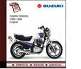 Thumbnail Suzuki gr650 gr650X 1983-1989 Service Manual