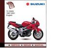 Thumbnail Suzuki TL1000S 97-01 Service Manual
