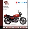 Thumbnail Suzuki GSX400F 1981-1983 Service Manual