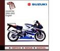 Thumbnail Suzuki GSXR750 00-02 Service Manual