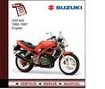 Thumbnail Suzuki GSF400 1990-1997 Service Manual