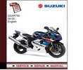 Thumbnail Suzuki GSXR750 04-05 Service Manual