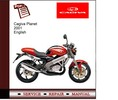 Thumbnail Cagiva Planet 2001 Service Manual