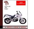 Thumbnail Cagiva Canyon 600 1995 Service Manual