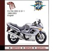 Thumbnail agusta F4 750 ORO S S1 1 1999-2003 Service Manual