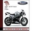 Thumbnail Buell XB9R - XB12R Firebolt 2005 Service Manual
