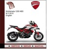 Thumbnail Ducati Multistrada 1200 ABS M.Y.2010 Service Manual