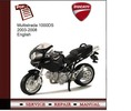 Thumbnail Ducati Multistrada 1000DS 2003-2008 Service Manual