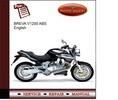 Thumbnail Moto Guzzi Breva V1200 ABS Service Manual