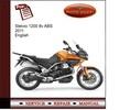 Thumbnail Moto Guzzi Stelvio 1200 8v ABS 2011 Service Manual