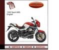 Thumbnail Moto Guzzi 1200 Sport ABS Service Manual