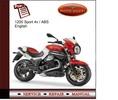 Thumbnail Moto Guzzi 1200 Sport 4v / ABS Service Manual