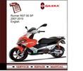 Thumbnail Gilera Runner RST 50 SP 07-10 Service Manual