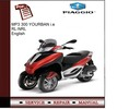 Thumbnail Piaggio MP3 300 YOURBAN i.e RL - NRL Service Manual