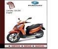 Thumbnail Piaggio Carnaby 125 - 200 Service Manual