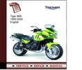 Thumbnail Triumph Tiger 885i 1999-2004 Service Manual