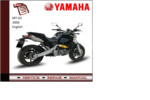 Thumbnail Yamaha mt03 2006 workshop Service repair Manual