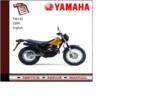 Thumbnail Yamaha Tw125 1999 workshop Service repair Manual