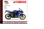 Thumbnail Yamaha X-power 2003 workshop Service repair Manual