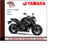 Thumbnail Yamaha xj6n/na(Y) 2009 workshop Service repair Manual