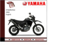 Thumbnail Yamaha xt660r/x(S) 2004 workshop Service repair Manual
