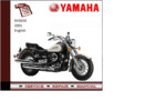 Thumbnail Yamaha xvs650 2001 supplementary Service repair Manual