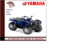 Thumbnail Yamaha yfm125s 2004 supplementary Service repair Manual