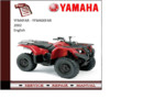 Thumbnail Yamaha yfm400far 2002 workshop Service repair Manual