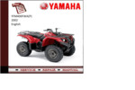 Thumbnail Yamaha yfm400fwa(P) 2002 supplementary Service repair Manual