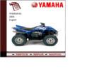 Thumbnail Yamaha yfm450fas 2003 supplementary Service repair Manual