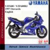 Thumbnail Yamaha YZF600RJ 1997 Onwards Workshop Service Repair Manual