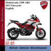 Thumbnail Ducati Multistrada 1200 ABS 2013+ Workshop Service Manual